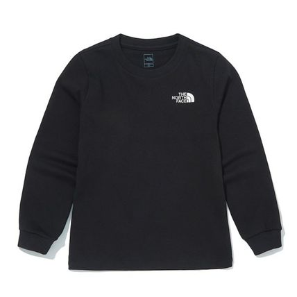 THE NORTH FACE キッズ用トップス ★THE NORTH FACE★送料込み★K'S ESSENTIAL L/S R/TEE NT7TM01(10)
