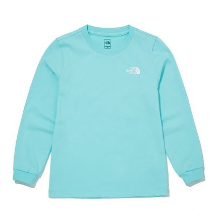 THE NORTH FACE キッズ用トップス ★THE NORTH FACE★送料込み★K'S ESSENTIAL L/S R/TEE NT7TM01(16)
