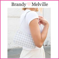2021Cruise新作♪☆Brandy Melville☆ PLAID SHOULDER BAG