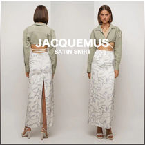 [JACQUEMUS] VISCOSE SATIN SKIRT 送料関税無料