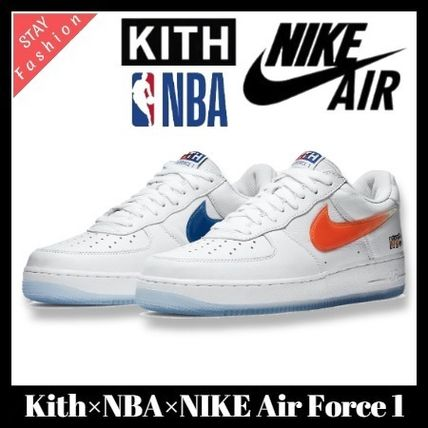 トリプルコラボ激レア!Kith×NBA×NIKE Air Force 1 NYC Knicks