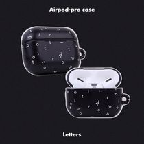 [tipitipo] エアーポッズプロ ケース Letters Airpod Pro Case