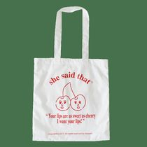 【she said that 】cherry bag エコバッグ
