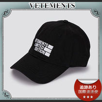 21SS/送料込≪VETEMENTS≫ Limited Edition ロゴ キャップ