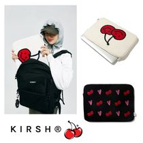 【KIRSH】21SS新作★ DOODLE CHERRY MACBOOK POUCH