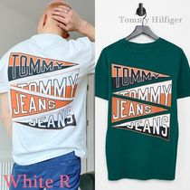 Tommy Hilfiger * フラッグ ロゴ バックプリント Tシャツ *