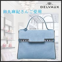 New◆delvaux◆新色*ヌバック*Tempete MM*田丸麻紀さんご愛用