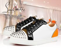 ☆21SS☆《Christian Louboutin》Louis Junior Spikes Orlato