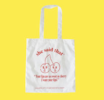 【she said that】Cherry Bag  追跡付送料込み