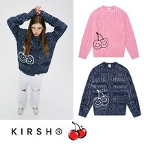 【KIRSH】21SS新作★ DOODLE CHERRY TWISTED KNIT