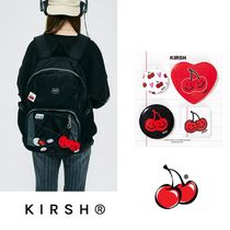【KIRSH】21SS新作★DOODLE CHERRY PIN BUTTON SET バッジセット