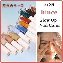 21SS限定カラー☆hince☆Glow Up Nail Color 全11色