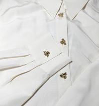 """& Other Stories"" Relaxed Bee Button Shirt White"