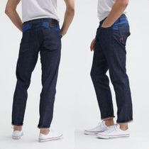 DENHAM★KINETIC 90MIX SUSTAINABLE DEINIM WIDE,TAPERED FIT