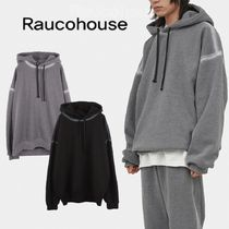 Raucohouse - SIDE SPRAY WASHED HOOD (2color)