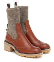 Franne leather ankle boots  アンクルブーツ