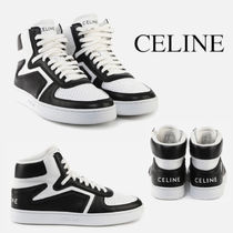 CELINE Z TRAINER CT-01 HIGH TOP SNEAKER IN CALFSKIN