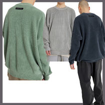 [ATTENTIONROW] Pigment Royal Lip Cotton Knit Sweater