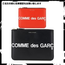 COMME des GARCONS◆ギャルソン レザー クラッチバッグ