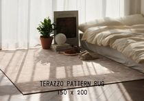 【THEFRIGG】TERAZZO PATTERN RUG 2color (size-L)