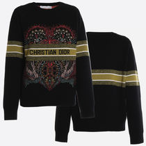DIOR Cashmere Sweater In Heart Lights Motif