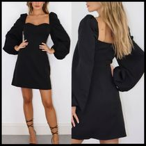Missguided milkmaid skater dress with corset detail