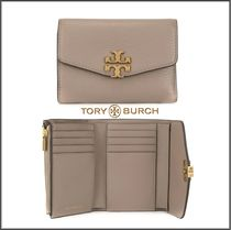 即発★TORY BURCH KIRA MIXED-MATERIALS MEDIUM 3つ折財布 55340