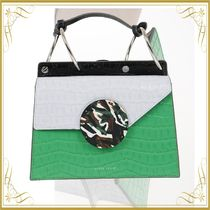 ☆SEAL☆Printed Leather PHOEBE Top Handle Bag with
