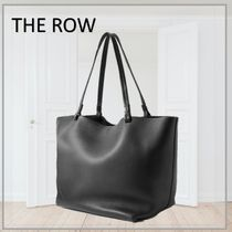 「THE ROW」Park3 medium leather tote PC収納可 レザートート
