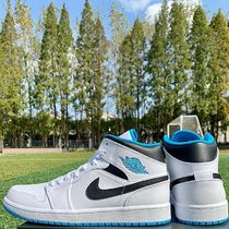 Nike  AIR JORDAN 1 MID  LASER BLUE レザーブルー