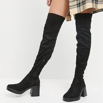 RAID Joyen chunky over the knee boot