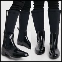 XTI side zip flat knee boots