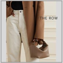 「THE ROW」Les Bains mini leather tote ミニトート ブラウン