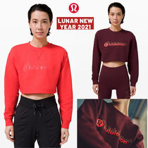lululemon☆新年限定!グラフィック All Yours Cropped Crew