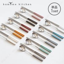 kamome kitchen【単品】お箸+スプーンset/追跡送料込