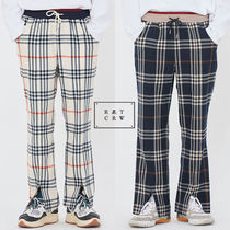 ★ROMANTIC CROWN★送料込み★韓国 CLASSIC CHECK BANDING PANTS