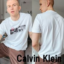 ■Calvin Klein Jeans■ シティライト フォト プリント Tシャツ