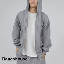 Raucohouse Worm Touch Soft Hood Zip-Up