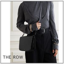「THE ROW」Julien black leather 2WAY レザーバッグ