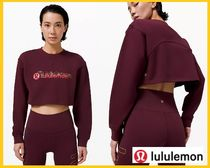 【lululemon】All Yours Cropped Crew Lunar New Year / Cassis