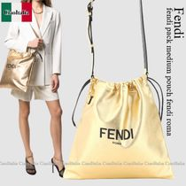 Fendi fendi pack medium pouch fendi roma