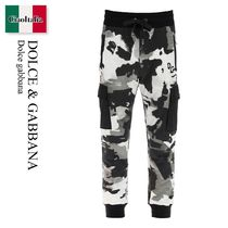 Dolce gabbana CAMOUFLAGE JOGGING TROUSERS