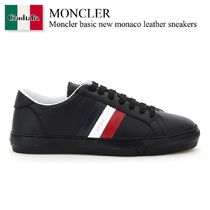 Moncler basic new monaco leather sneakers