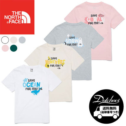 THE NORTH FACE キッズ用トップス THE NORTH FACE K'S GREEN EARTH S/S R/TEE MU1933 追跡付