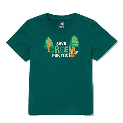 THE NORTH FACE キッズ用トップス THE NORTH FACE K'S GREEN EARTH S/S R/TEE MU1933 追跡付(14)