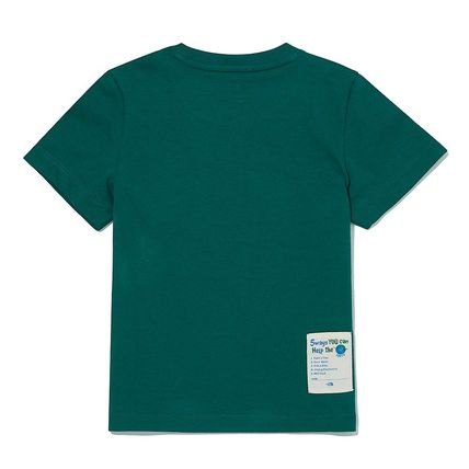THE NORTH FACE キッズ用トップス THE NORTH FACE K'S GREEN EARTH S/S R/TEE MU1933 追跡付(15)