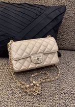 絶対欲しい★2021S/S CHANEL 最新作★RECTANGLE MINI in gold