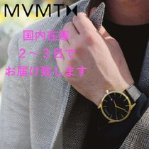 手元に在庫あり MVMT Watches◇BlackGold Leather