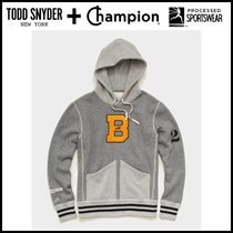 NEW ☆Todd Snyder + Champion☆ BROOKLYN CIRCUS 'B' HOODIE