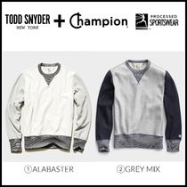 コラボ! NEW ☆Todd Snyder + Champion☆ COLORBLOCK SWEATSHIRT